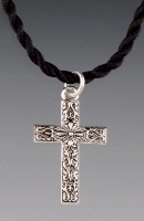 A SALE Praying Collection: Cross Southwest on Cord 18 Inch SALE
