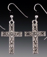 ZSold  Praying Collection: Cross Southwest Earring SOLD