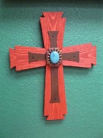 Casa Tranquila Designs: Cross Southwest Large Cross In A Cross Special Order