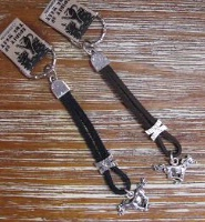 ZSold Spirit of the West Key Chain: Galloping Horse SOLD