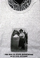 Side Saddle Vintage Cowgirl T-Shirts: Avoid Housework S