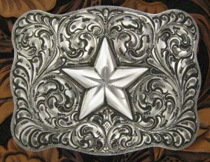 Silver King Buckle: The Star Trophy Buckle Special Order