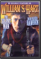 DVD Silent William S. Hart: The Silent Man and Blue Blazes Rawden