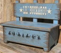 Cowboy Brand Furniture: Toy Box Bench