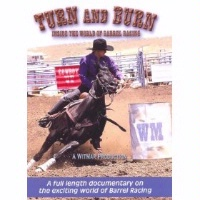 DVD Documentary Rodeo David Wittkower: Turn And Burn: Inside the World of Barrel Racing SALE