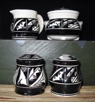 ZSold Ute Mountain Pottery: Tabletop Set  SOLD