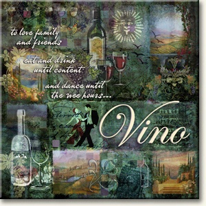 Evie Cook Digital Prints: Wine