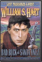 ZSold DVD Silent William S. Hart: Bad Buck of Santa Ynez, Uncovered Wagon, Pals of the Prairies SOLD