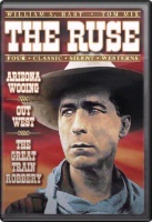 DVD Silent William S. Hart: The Ruse, Arizona Wooing, Out West, The Great Train Robbery