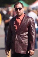 Scully Men's Leather Blazer: Western Sportcoat Jacket Lamb Black Cherry 36-48