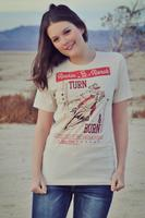 Original Cowgirl Clothing: Rockin' B Ranch Tee Turn N Burn