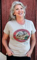 Original Cowgirl Clothing: Tee Vintage Amarillo Barrel Racing