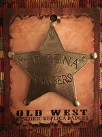 Colorado Silver Star Old West Badge: Arizona Rangers Backordered