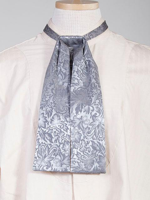 Scully Men's Accessory: Neckwear Wahmaker Silk Jacquard Tie Grey