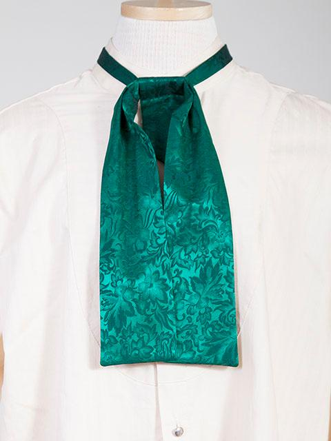 Scully Men's Accessory: Neckwear Wahmaker Silk Jacquard Tie Hunter Green