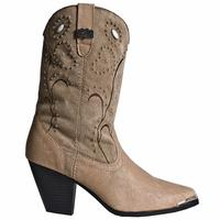 Ladies' Dan Post Boots Dingo: Fashion Ava Chestnut Fashion Toe M 6-10