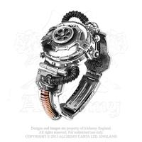 Alchemy Timepiece Steampunk: Watch Steam Powered Entropy Calibrator
