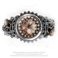 Alchemy Timepiece Steampunk: Watch Telford Chronocogulator Timepiece