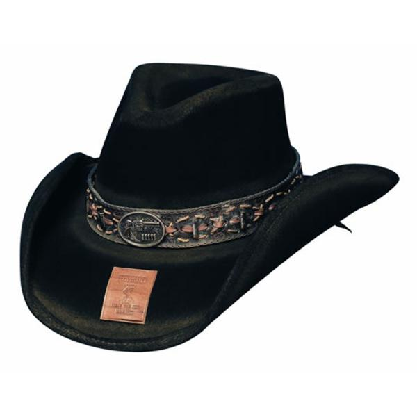 Bullhide Hats Gunfighters Collection: Wool B. Kidd Black S-XL