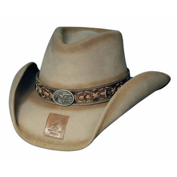 Bullhide Hats Gunfighters Collection: Wool B. Kidd Sand S-XL