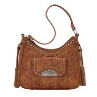 Bandana Handbag Guns & Roses Collection: Concealed Carry Shoulder Bag Copper