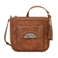 Bandana Handbag Guns & Roses Collection: Concealed Carry Crossbody Organizer Copper