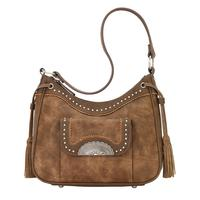 Bandana Handbag Guns & Roses : Concealed Carry Shoulder Golden Tan