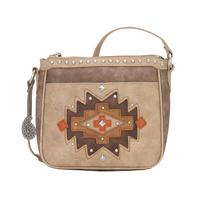 Bandana Handbag A Earth Bound Collection: Southwest Crossbody Bag Stone