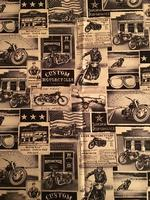 Rockmount Ranch Wear Accessory: Bandana Vintage Motorcycles