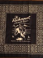Rockmount Ranch Wear Accessory: Bandana Rockmount Logo Red or Blue