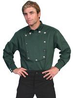 Scully Men's Old West Shirt: Wahmaker Cotton Bib Hunter Green Backordered