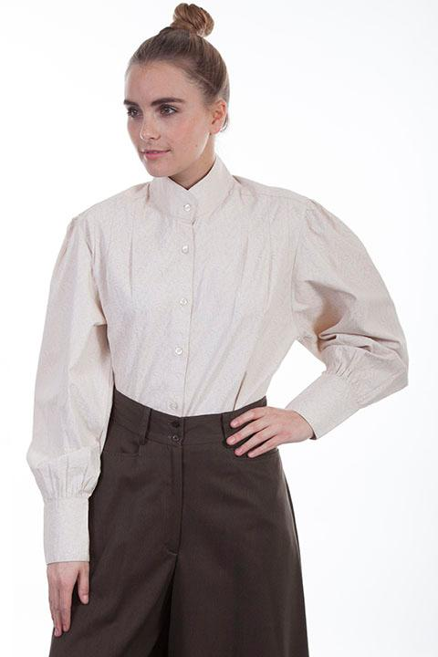 Scully Ladies' Old West Blouse: Rangewear Classic Work Shirt