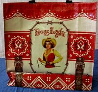 ZSold Boss Lady by Blue Q: Shopping Bag Tote Red SOLD