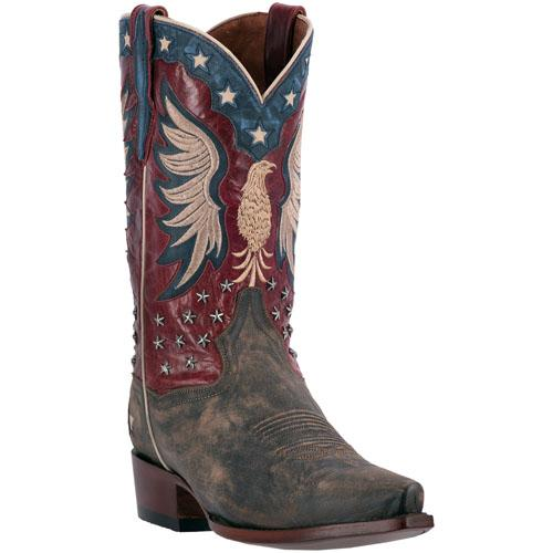 A Men's Dan Post Boots Western Fashion: A Bountiful Bay Apache Snip Toe DEAL