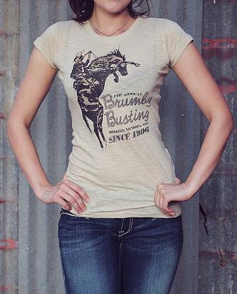 Original Cowgirl Clothing: Tee Brumby Busting S-2XL