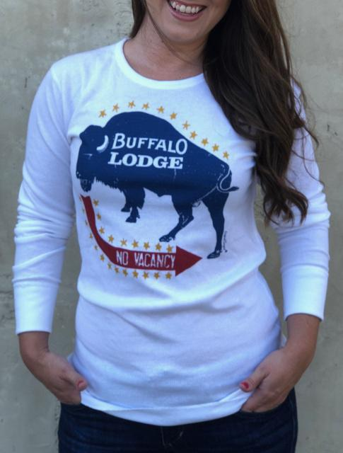 Original Cowgirl Clothing: Thermal Buffalo Lodge