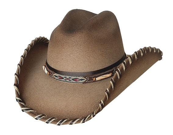 Bullhide Hats American Frontier Collection: Wool Cheyenne Sand S-XL