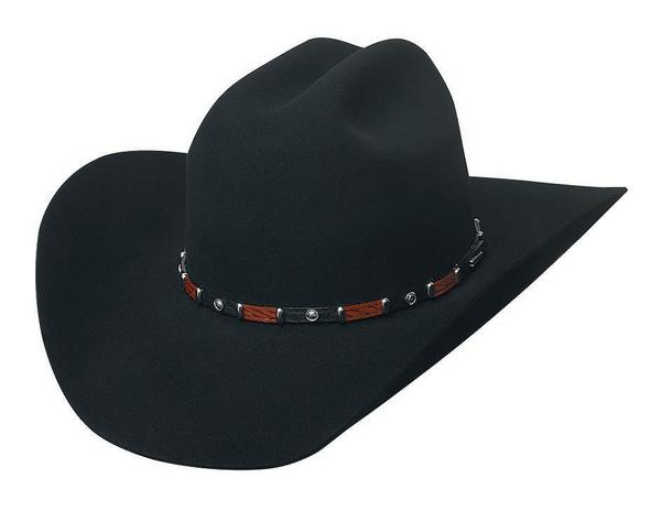 Bullhide Hats: Felt Rodeo Breakaway 10X Black