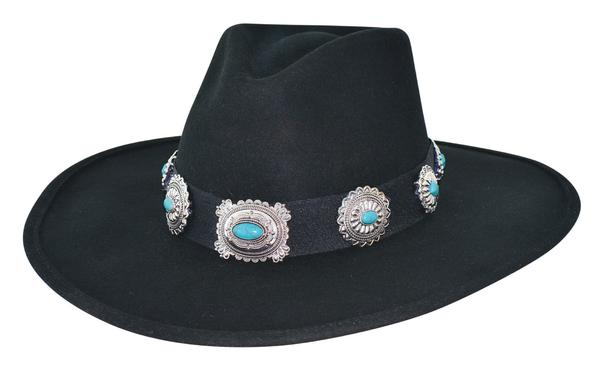 Bullhide Hats: Fashion Felt Iroquois Black