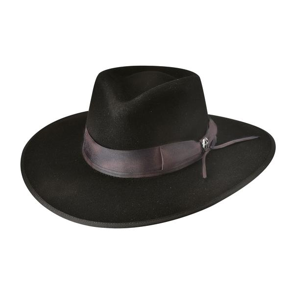 Bullhide Hats: Couture Felt Cavalry Charge Black NEW