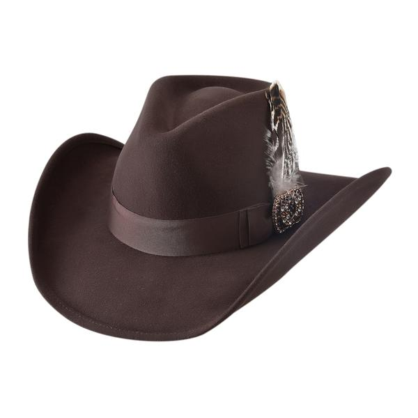 Bullhide Hats: Couture Felt Lovely Chocolate NEW