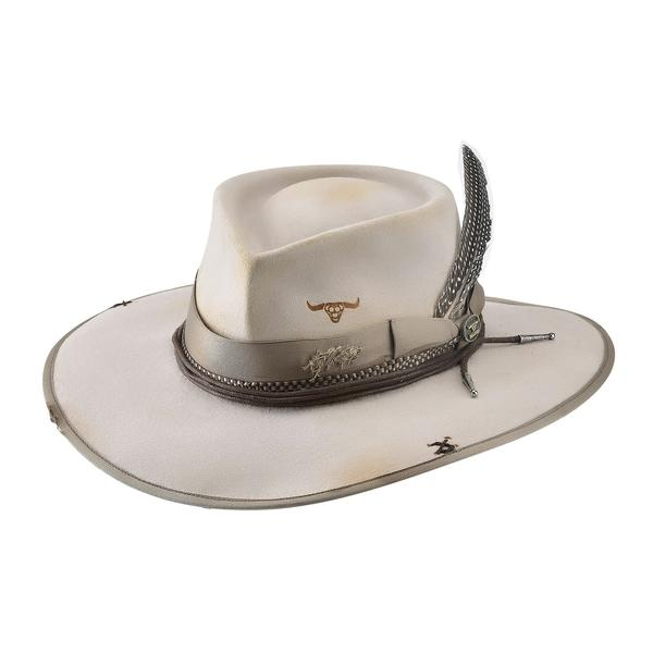 Bullhide Hats: Couture Felt Searing Desert Silverbelly NEW