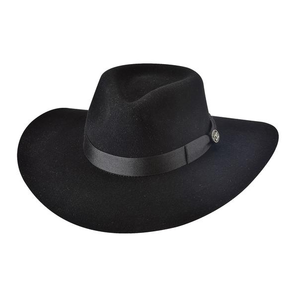 Bullhide Hats: Fashion Felt Street Gossip Black NEW