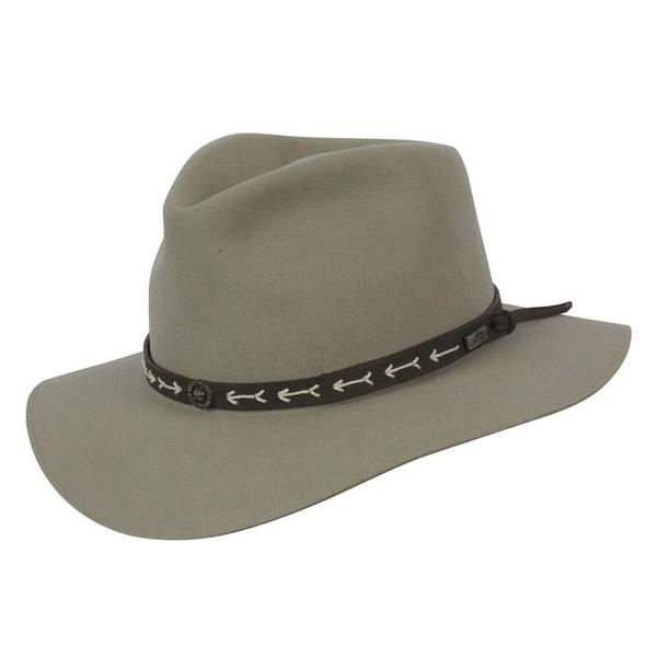 Conner Handmade Hats Safari & Outback: Wool Mt. Warning Putty