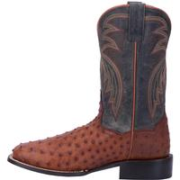 Men's Dan Post Boots Cowboy Certified Exotic: Ostrich Calhoun