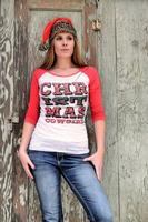 Original Cowgirl Clothing: A Tee Baseball Christmas Cowgirl