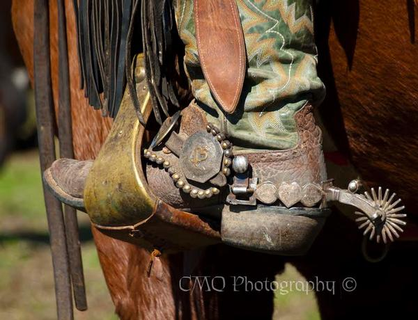 Art Photographer Cindy Quigley: C Boots and Spurs Past Featured Artist
