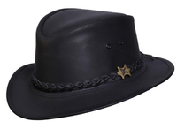 Conner Handmade Hats Fedora: The Streetwise Black