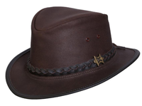 Conner Handmade Hats Fedora: The Streetwise Brown