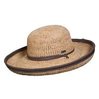 Conner Handmade Hats Beach & Resort: Raffia Crocheted Marsh Harbour One Size
